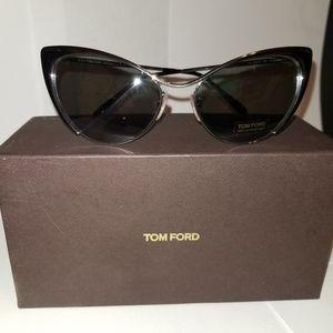 Tom Ford Nastasya Silver Cat sunglasses
